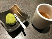 デザート付き♪伊達茶クリーム大福 粉茶が濃くて美味しい★