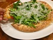白魚のピザ