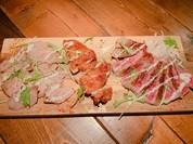 肉3種盛り