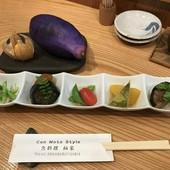 野菜と果物の炊き合わせ