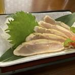 若鶏の湯引き680円