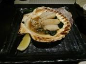 帆立バター醤油焼き