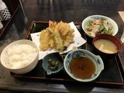 天ぷら定食とても上品な感じで非常に美味しい、値段もリーズナブル!