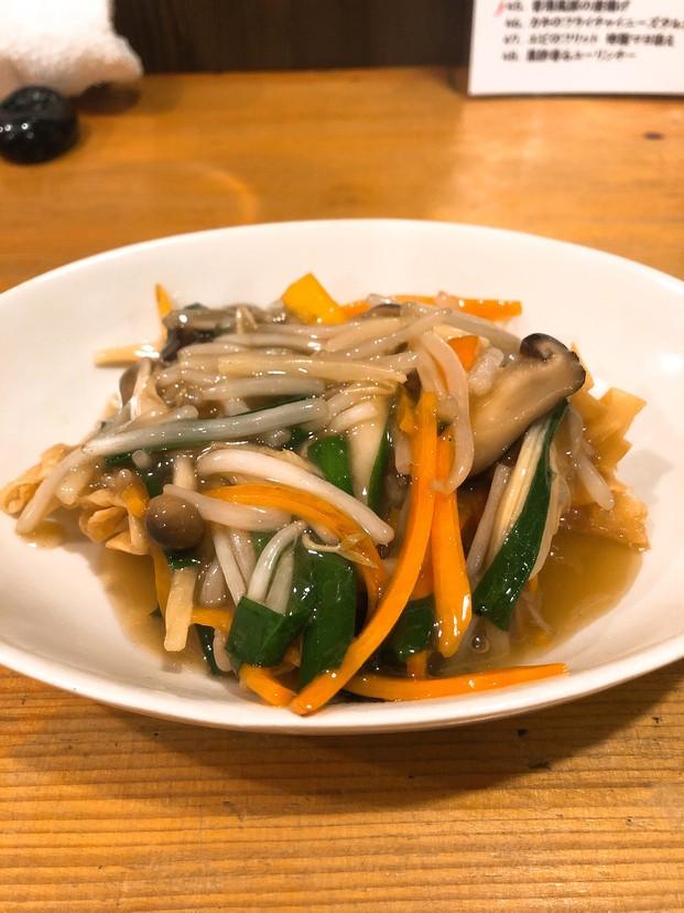 ゆず の たね 中野 ふらっと入って、食べて飲んで3,000円!【chinesebar