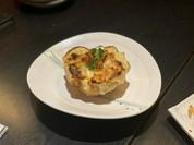 牡蠣とりんごのグラタン