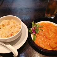 華都特選ランチコース/海鮮料理・華都特製炒飯