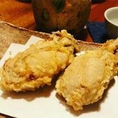 牡蠣の天ぷら