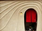 圧巻の左官アート Rukawaの洞窟