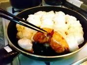 生餃子を家でヤキヤキ