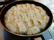 生餃子を家で調理